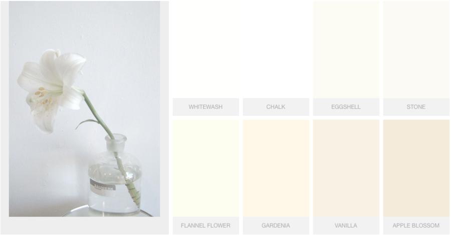 white nuancé Bauwerk