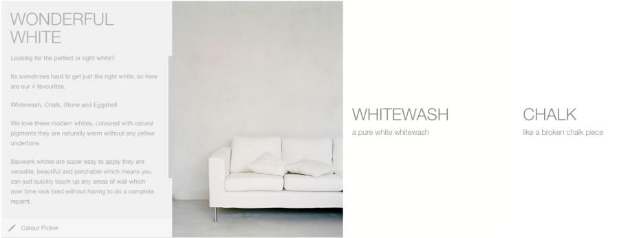 white Bauwerk