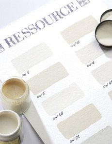 whaite palette Ressource