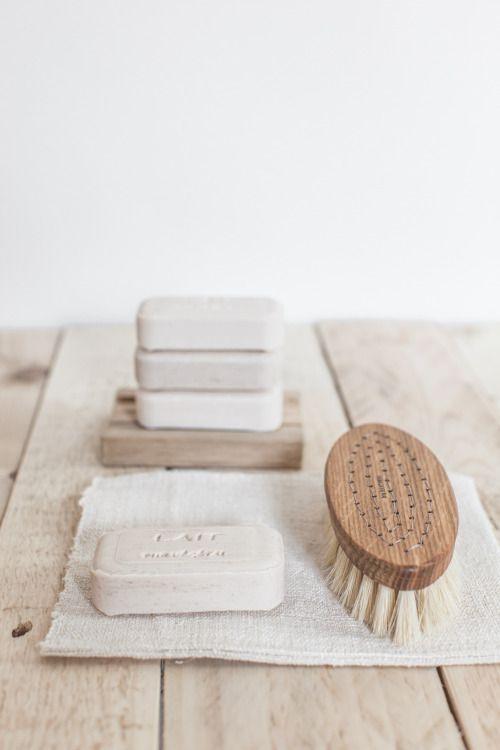 Salle de bain et savons