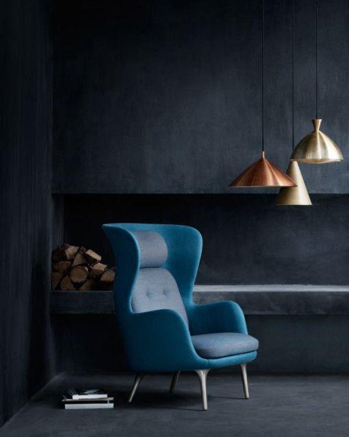 blue chair by Hansen
