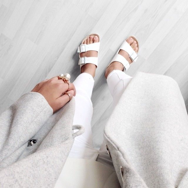 from grey to white