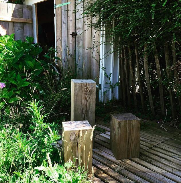 backyard garden chez 2B&Co.