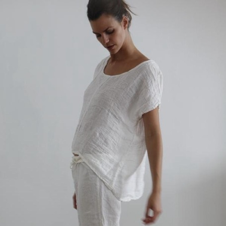 muslin linen home-wear Secret Maison
