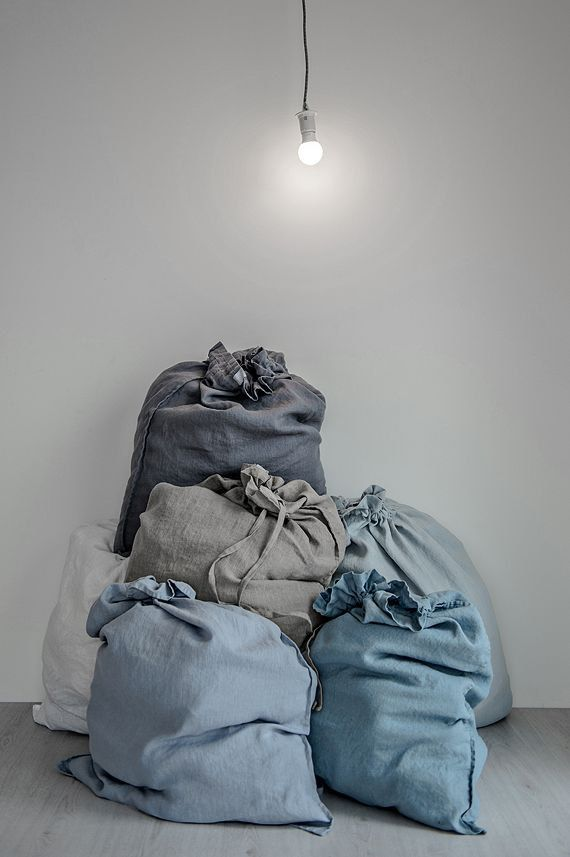 noperfect linen laundry bag
