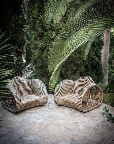 rattan outside chairs