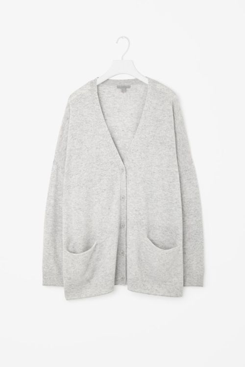 cos oversized cardigan