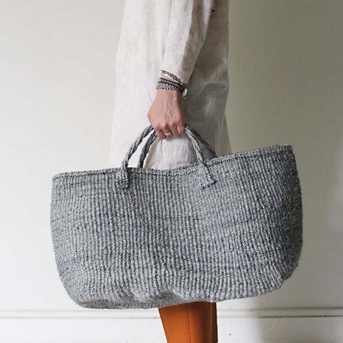grey basket