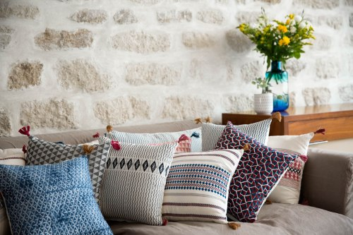 Collection coussins Jamini