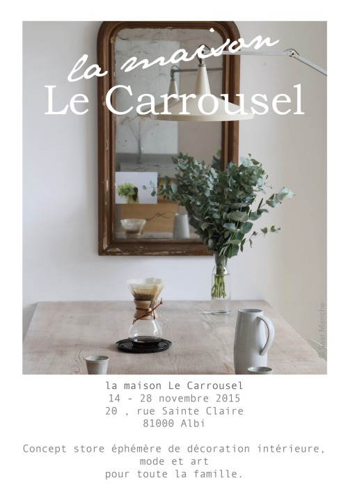 LE CARROUSEL POP UP STORE EN