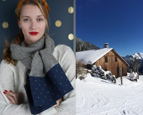 Winter collection Gaelle Barre