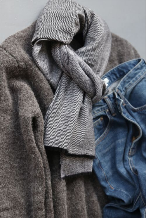 wool and denim