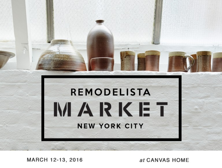 Announce Remodelista Market NYC