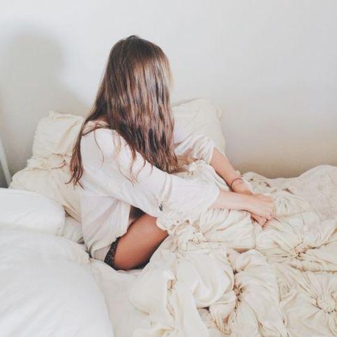 lit blanc coton par Tarah Jane