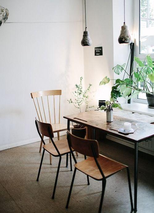simple wooden interior