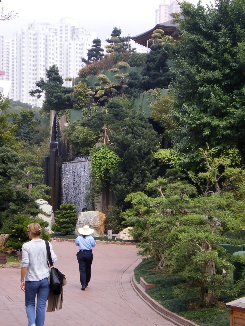 In the buddhist park