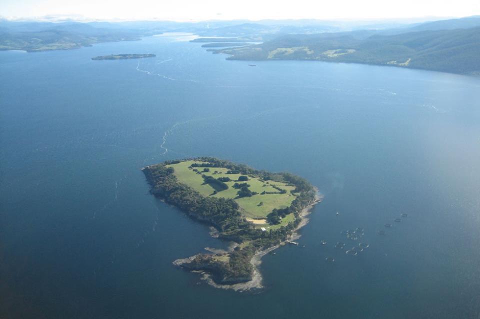 satelillite island - from the sky