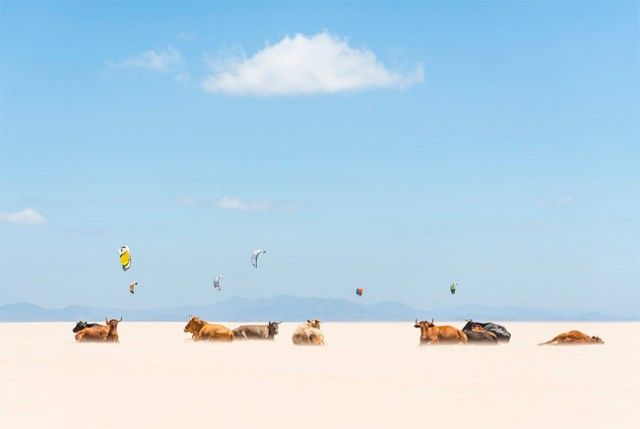 Tarifa Beach, Andalucia, Spain. Crédit image - Andrew Lever