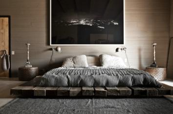 wabi bedroom via Milk Magazine