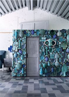 Paola Navone Industrial home Milan 13