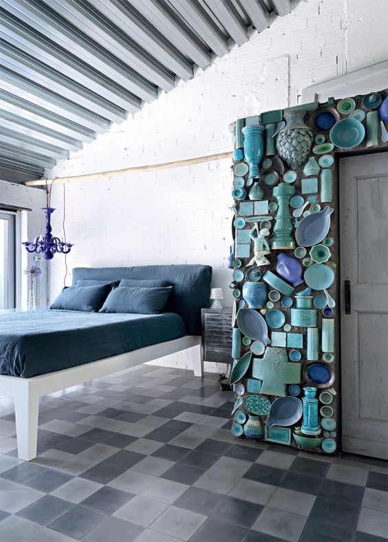 Paola Navone Industrial home Milan 15
