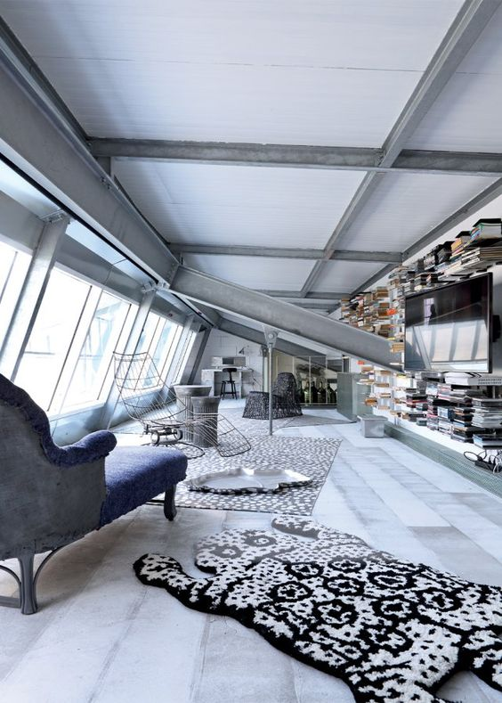 Paola Navone Industrial home Milan 2
