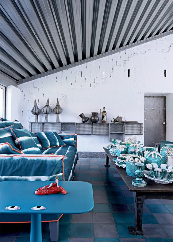 Paola Navone Industrial home Milan 3
