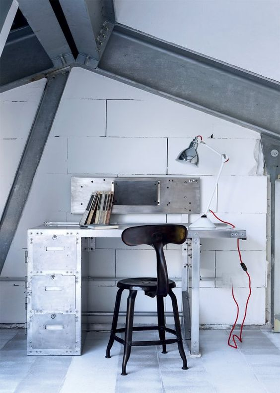 Paola Navone Industrial home Milan 6