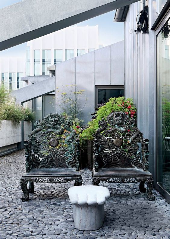Paola Navone Industrial home Milan 8
