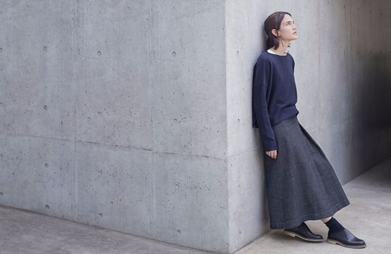 long-skirt-denim