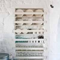 WHITE-WASHED HOUSE ON NISYROS GREEK ISLAND...