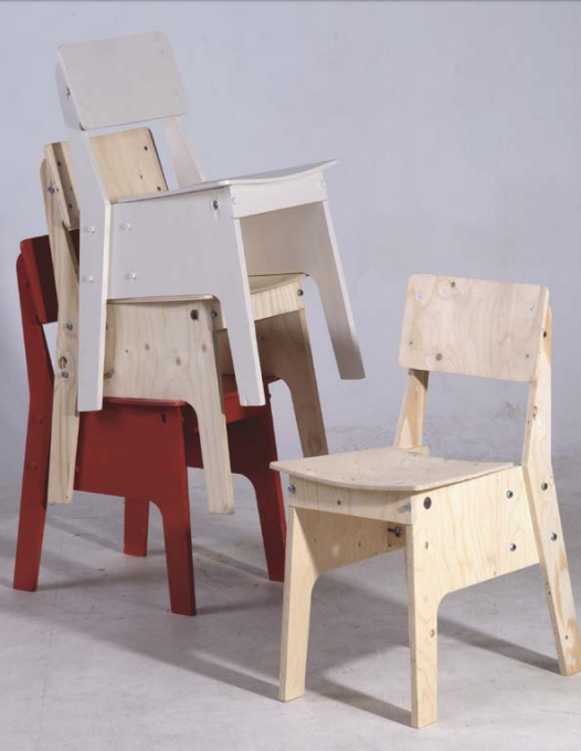 Piet Hein Eek chairs